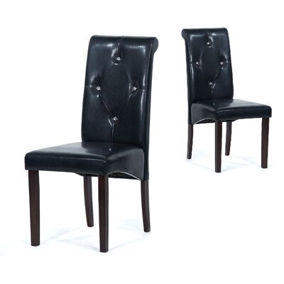 Tiffany Parsons Chair Finish: Black