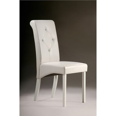 Tiffany Side Chair Finish: White