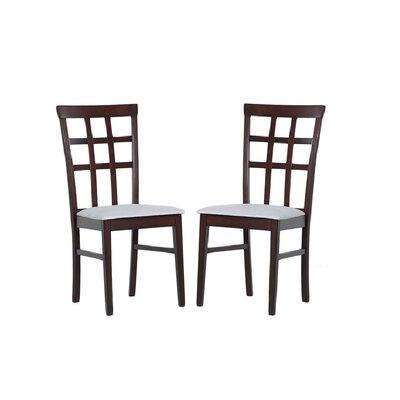 Tiffany Justin Side Chair Finish: Grey
