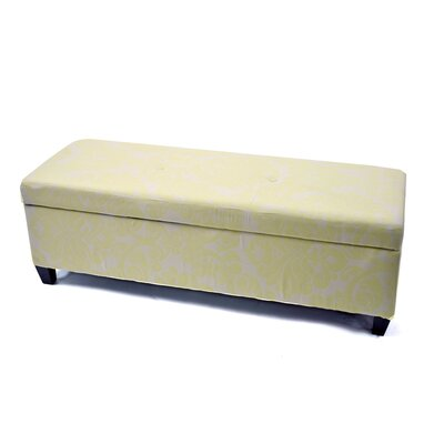Donahue Upholstered Storage Ottoman Upholstery: Beige