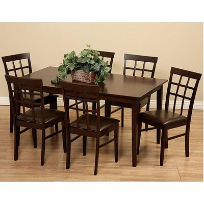 Cheap legacy dining room sets justin 7 piece dining set for 7 piece dining room sets cheap