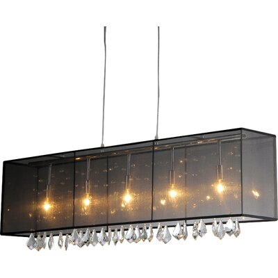 5-Light Kitchen Island Pendantt