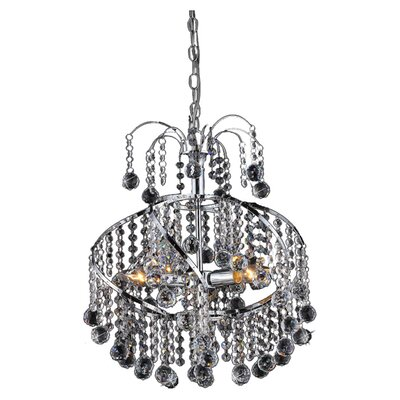 Helen 3-Light Crystal Chandelier