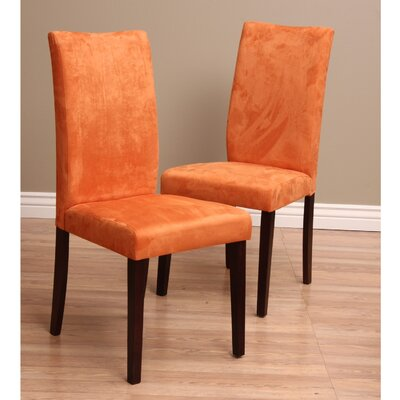Tiffany Shino Parsons Chair Finish: Orange