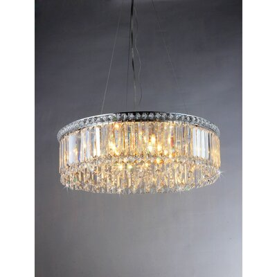 Karole 24-Light Drum Pendant
