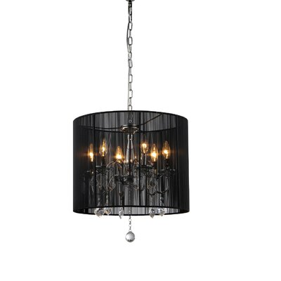 Sharona 6-Light Drum Chandelier