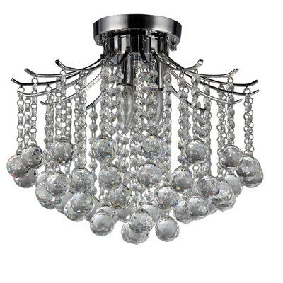 Jewel 3-Light Crystal Chandelier