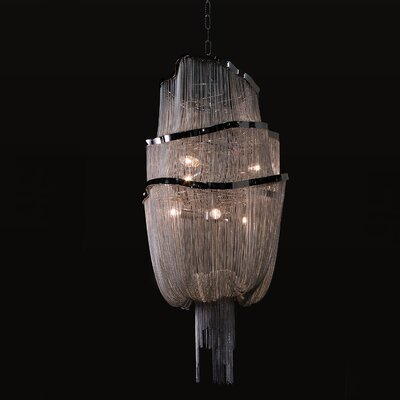Jerico 6-Light Shaded Chandelier