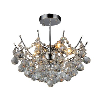 Shine 5-Light Crystal Chandelier