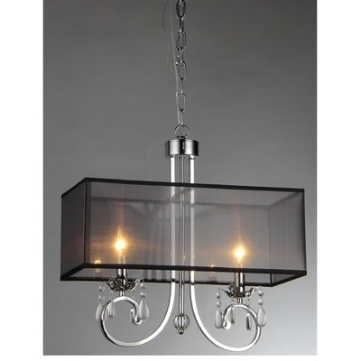 2-Light Kitchen Island Pendant