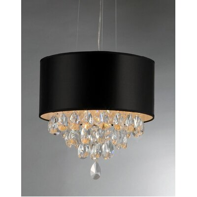 Yuliya 4-Light Drum Chandelier