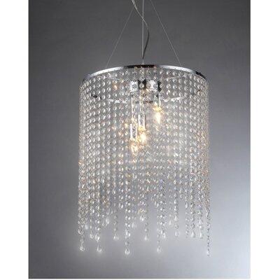Falls 3-Light Crystal Chandelier