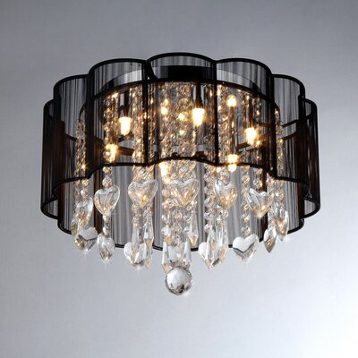Enyo 6-Light Drum Chandelier