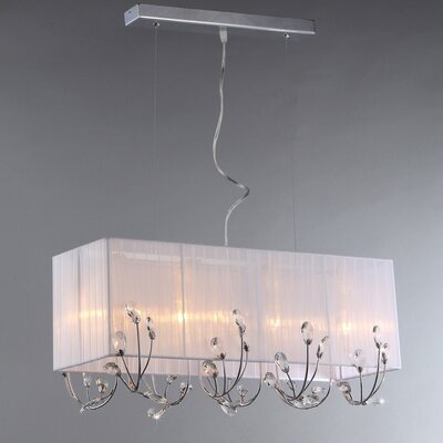 4-Light Kitchen Island Pendant