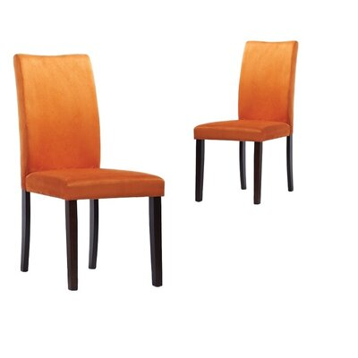 Tiffany Shino Side Chair Finish: Orange