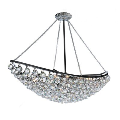Heracles 6-Light Crystal Chandelier