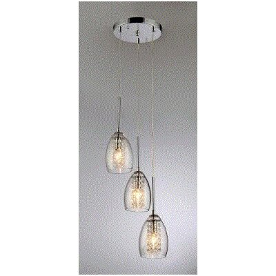 Wine Cup 3 Light Pendant 59774