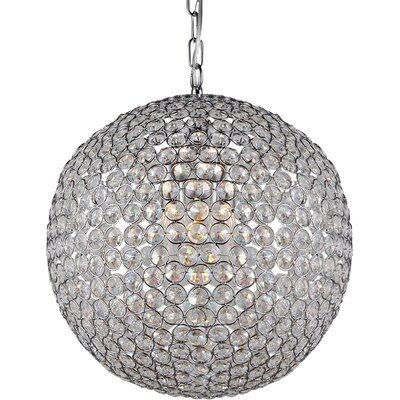 Prometheuse 2-Light Crystal Chandelier