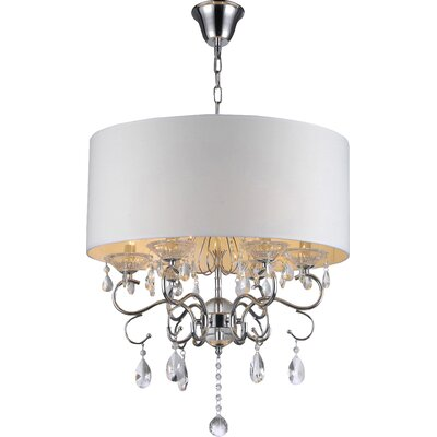 Garron 6-Light Drum Chandelier