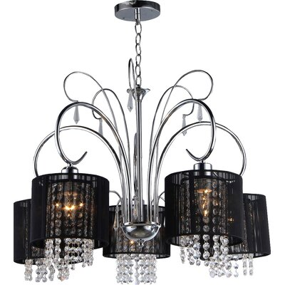 Celeste 5-Light Drum Chandelier