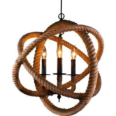 Mariella 3-Light Globe Pendant