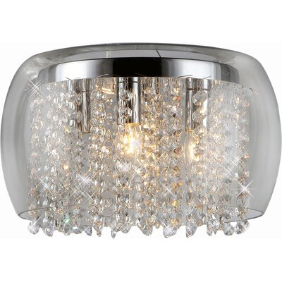 Nereids 4-Light Crystal Chandelier