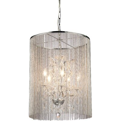 Rosalias 6-Light Crystal Chandelier