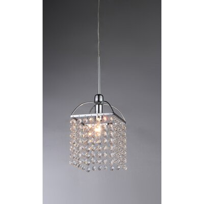 Scarlet 1-Light Foyer Pendant