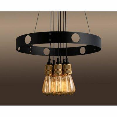 Edison Jeanette 6-Light Cluster Pendant