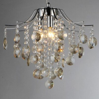Magna 3-Light Crystal Chandelier