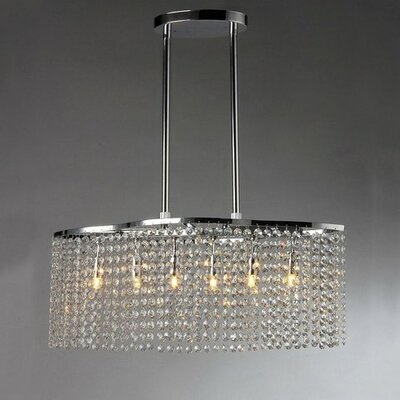 Tee 6-Light Crystal Chandelier