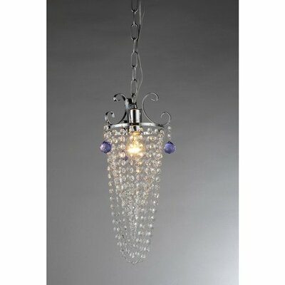 Pot 2-Light Crystal Chandelier