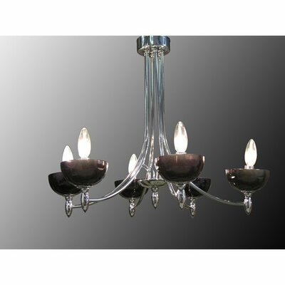 Ariana 6-Light Candle-Style Chandelier