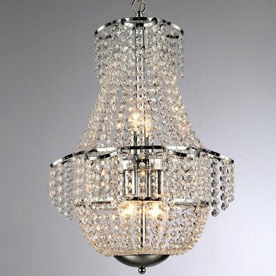 Elyssa 6-Light Empire Chandelier