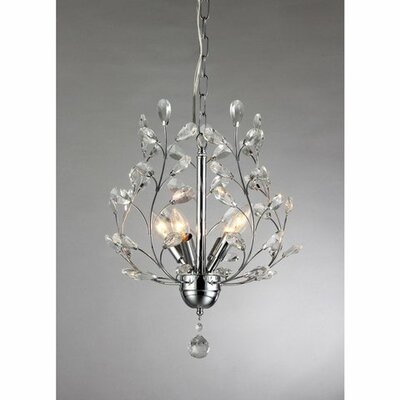 Marie 4-Light Crystal Chandelier