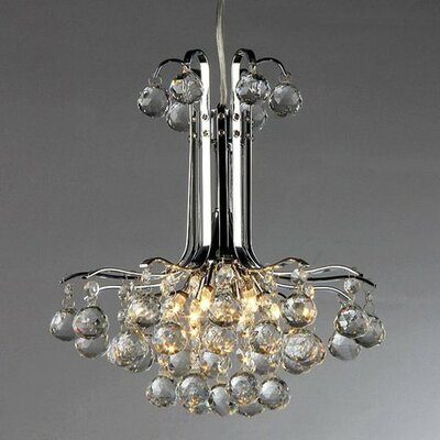 Dream 3-Light Crystal Chandelier