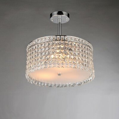 Garcia 4-Light Crystal Chandelier