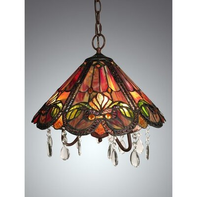 Ameria 3-Light Inverted Pendant