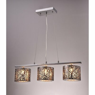 Avery 3-Light Kitchen Island Pendant