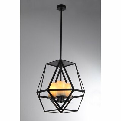 Aishani 3-Light Foyer Pendant
