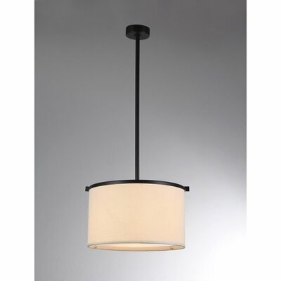 Aesha 1-Light Drum Pendant