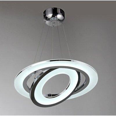 Madelyn 1-Light LED Geometric Pendant