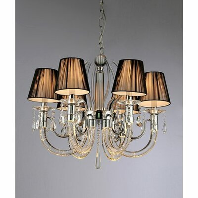 Ranneth 6-Light Shaded Chandelier