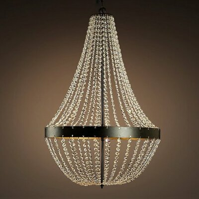 Edison Noelle 5-Light Empire Chandelier