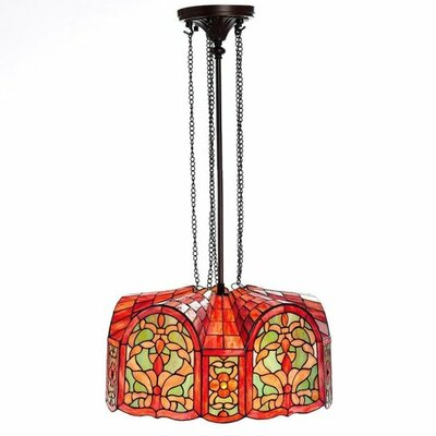 Mediterranean 3-Light Mini Pendant