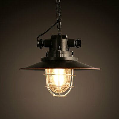 Edison Trevor 1-Light Mini Pendant
