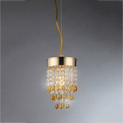 Deb 2-Light Crystal Chandelier