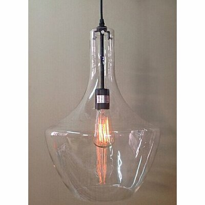 Edison Love 1-Light Mini Pendant