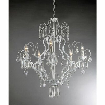 Miracle 5-Light Crystal Chandelier