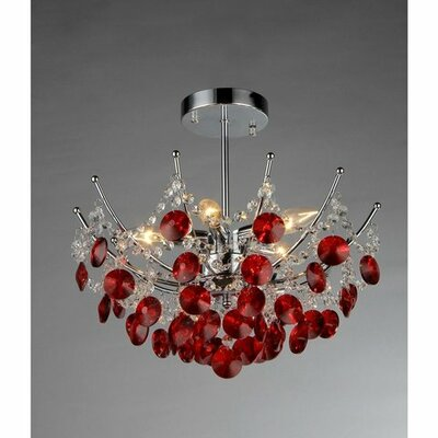 Ruiz 3-Light Crystal Chandelier